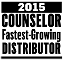 2015 Counselor Fastest-Growing Distributor